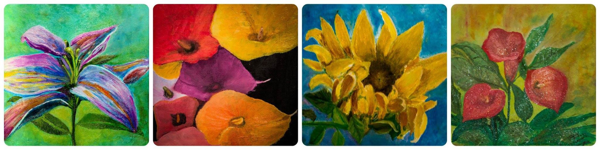 Gergana's 2015 paintings!